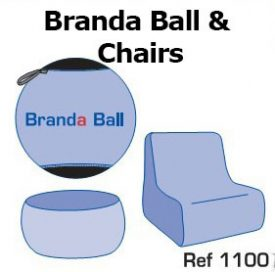 12. Branda Ball & chairs