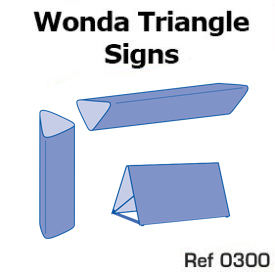 4. Wonda Triangle signs