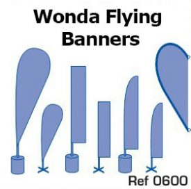 7. Flying banners