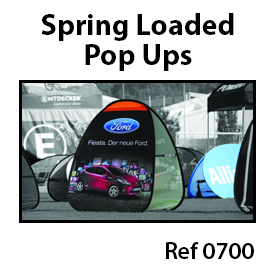 8. Spring loaded pop-ups